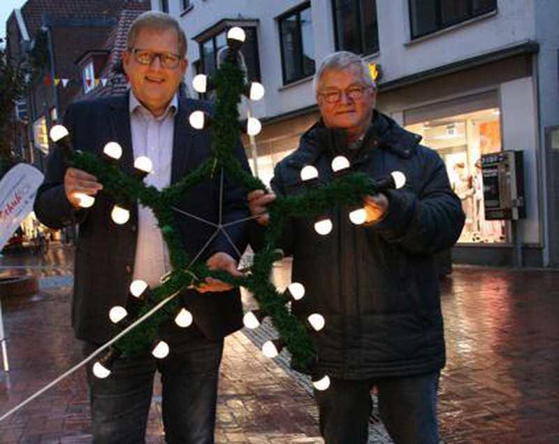 Höhepunkt In Der Vorweihnachtszeit: Adventsbeleuchtung in Westerstede gesichert - Nordwest-Zeitung