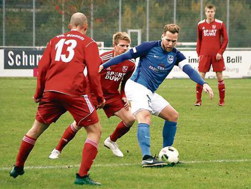 Fußball: Sergej Müller beschert Rastede einen Punkt - Nordwest-Zeitung
