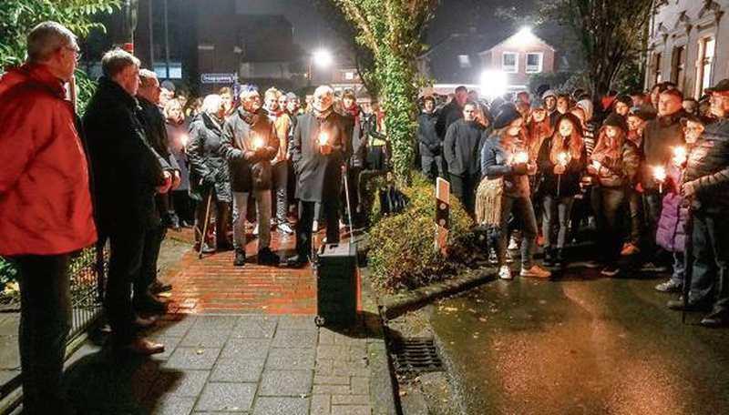 Gedenken An Pogromnacht In Varel: Klares Nein zu Antisemitismus - Nordwest-Zeitung