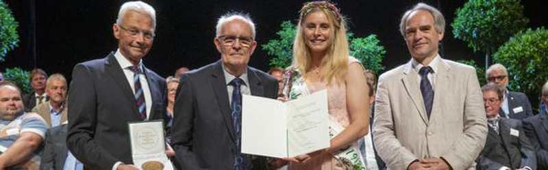 Bundesgartenschau: Staatsehrenpreis in Gold für Gerd Rabben - Nordwest-Zeitung