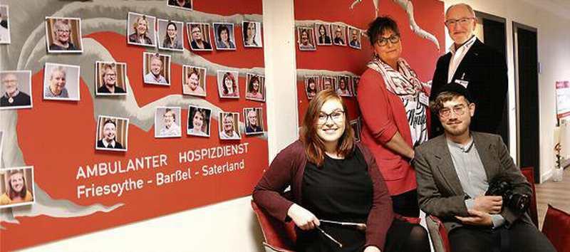 Würdigung: Hospizbegleiter zeigen ihr Gesicht - Nordwest-Zeitung