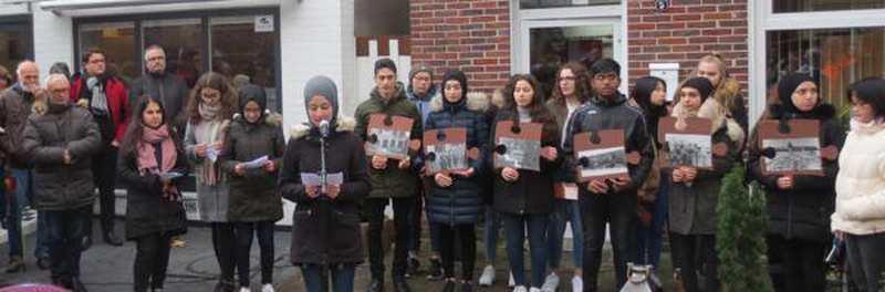 Vechtaer Schulen Beteiligen Sich: Gedenken an Tötung der Juden - Nordwest-Zeitung
