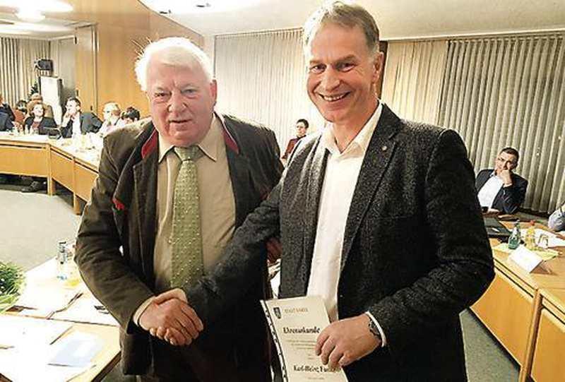45 Jahre Im Stadtrat: Varel steht für Karl-Heinz Funke stets an erster Stelle - Nordwest-Zeitung
