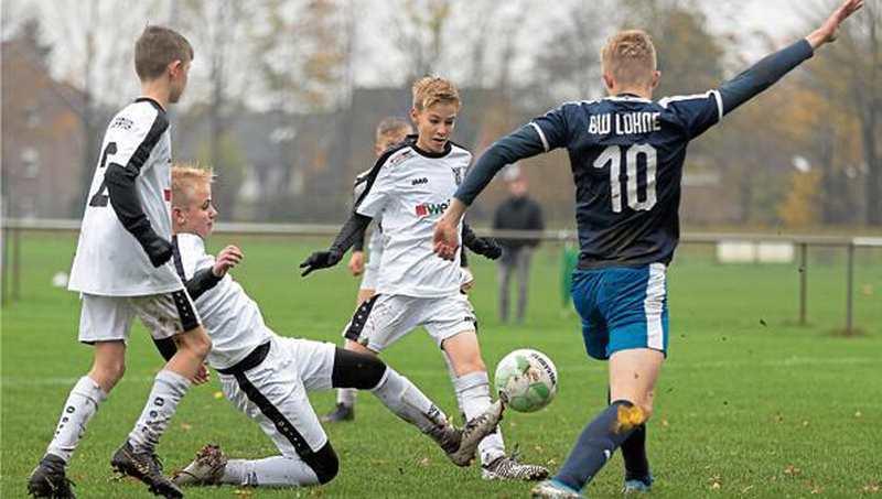 """Junioren-Fußball: Neldners """"C"""" gewinnt Prestigeduell - Nordwest-Zeitung"""