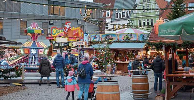 Weihnachtsmarkt In Delmenhorst: Punsch, Plätzchen und Partys - Nordwest-Zeitung