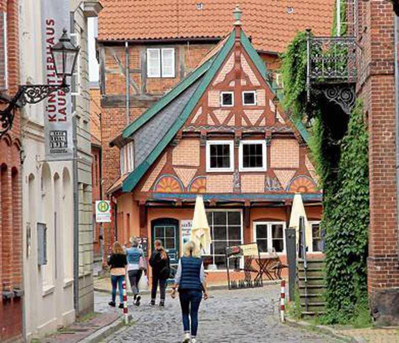 Deutschland: Hafenatmosphäre im Binnenland