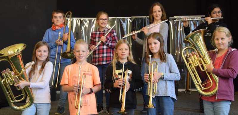 Musik: Neue Bläserklasse am Nordenhamer Gymnasium